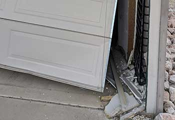 Garage Door Off Track In Argyle TX